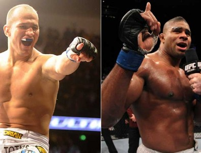 "Junior ""cigano"" dos santos vs Alistar Overeem"
