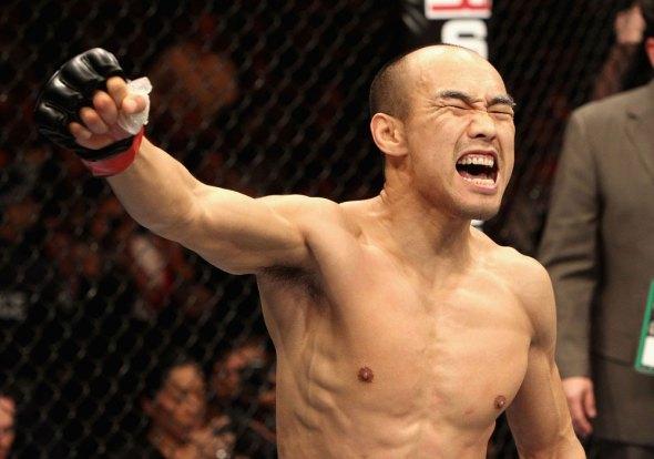 Zhang Tiequan unico chines no UFC