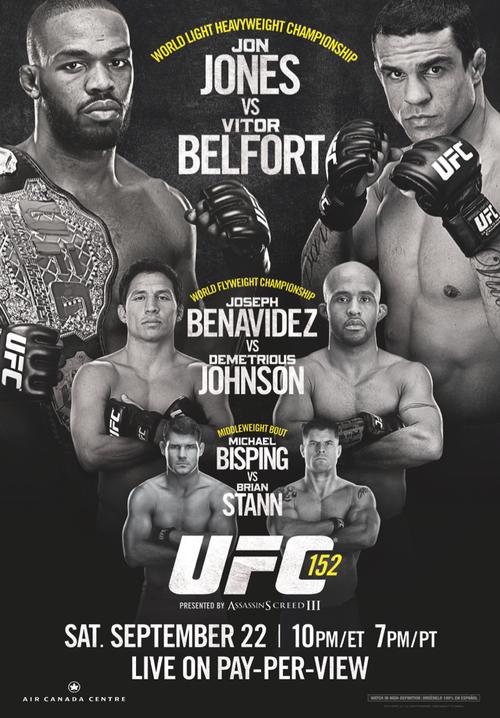 Jon Jones vs. Vitor Belfort UFC 152