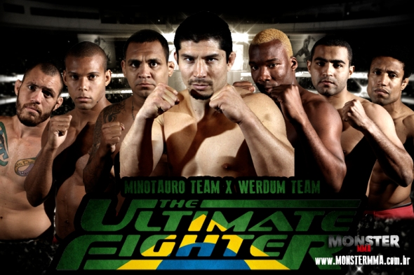TUF Brasil 2 werdum minotauro the ultimate fighter brasil 2