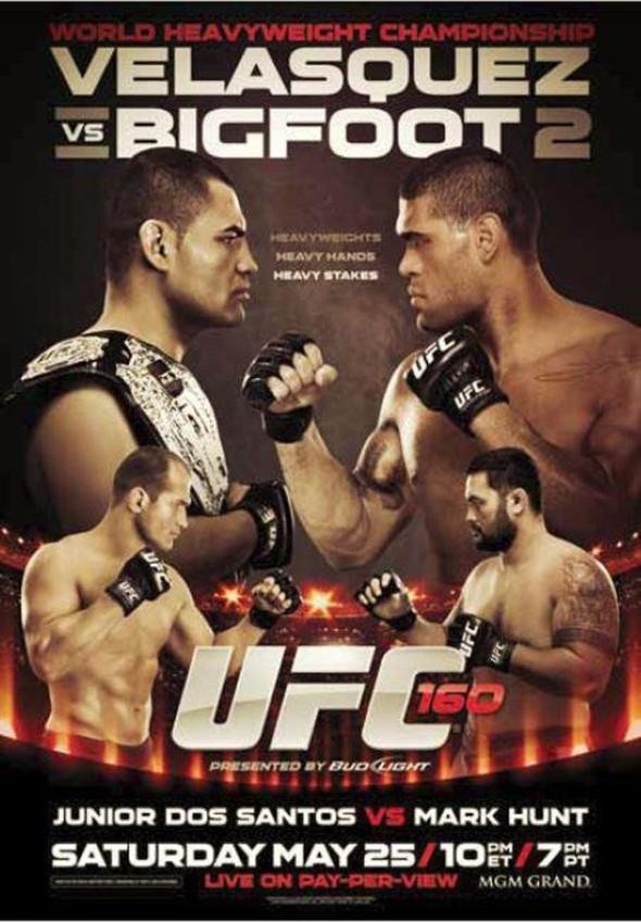 Poster UFC 160