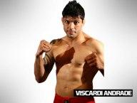 TIME WERDUM: Viscardi Andrade tem 29 anos e 1,82 m. Nascido em São Paulo, tem cartel de 13 vitórias e cinco derrotas. Na fase preliminar, bateu Thiago 'Jambo' Gonçalves por pontos em dois rounds.