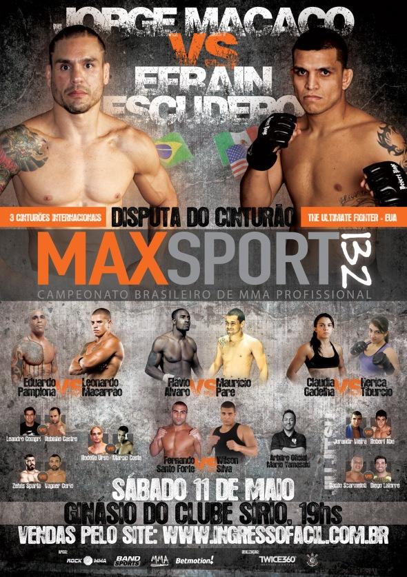 MAX SPORT 132 -  Cartaz