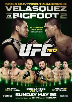 UFC 160 foxtel A3.indd